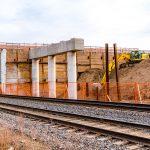 CN Rail West of James Snow Parkway